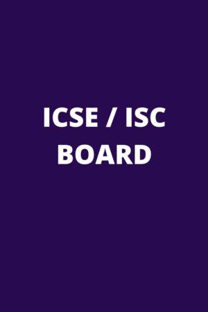 ICSE / ISC