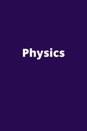 CBSE 9-10 Physics