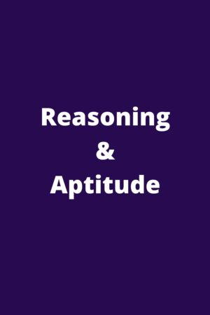 Reasoning & Aptitude