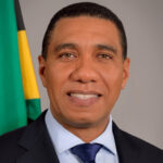 The Most Honourable Andrew Holness, ON, MP -  Prime Minister of Jamaica