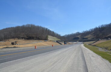 Bridge Over Mountain Parkway Opening to Traffic