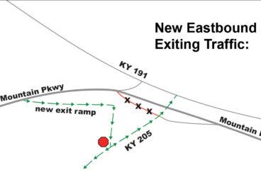 Mountain Parkway Traffic Changes Start This Week