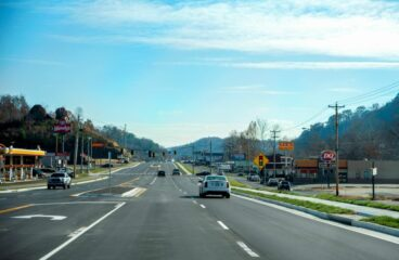 Mountain Parkway's Restaurant Row Project in Salyersville Now Open to Traffic