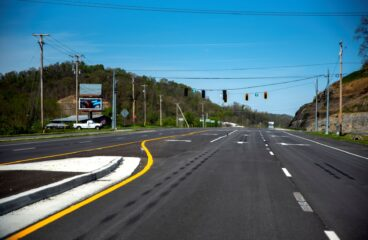 Turn Lanes Being Added on Restaurant Row