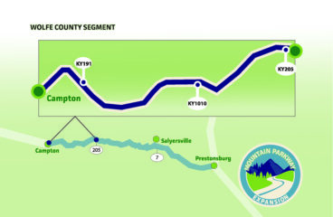 Alternative selected to widen Mountain Parkway in Wolfe County