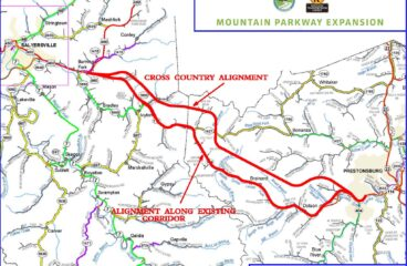KYTC looking at two alternatives to extend Mountain Parkway in Floyd, Magoffin counties