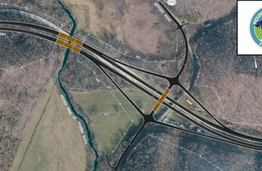 First vehicles to drive on new Mountain Parkway roadway this week