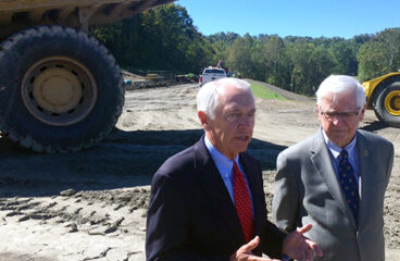 Leaders Witness Progress on Mountain Parkway Expansion