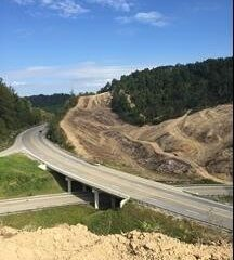 Mountain Parkway Expansion Progress Report — Week of September 21