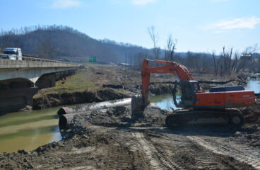 Mountain Parkway Expansion Progress Report : Week of March 28, 2016