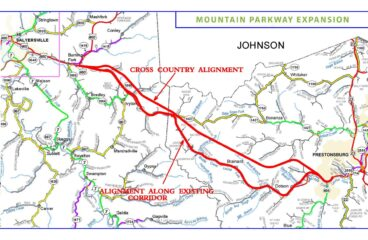 Mountain Parkway team refines corridor for cross-country option
