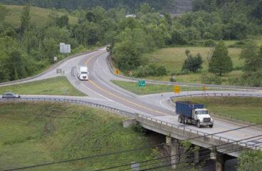 Work beginning near Salyersville interchange