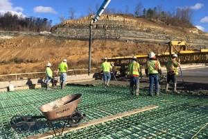 Mountain Parkway Expansion Progress Report — Week of December 19, 2016