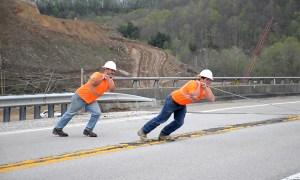 Mountain Parkway Expansion Progress Report: Week Beginning May 22