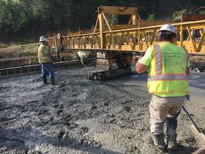 Mountain Parkway Expansion Progress Report: Week Beginning April 17