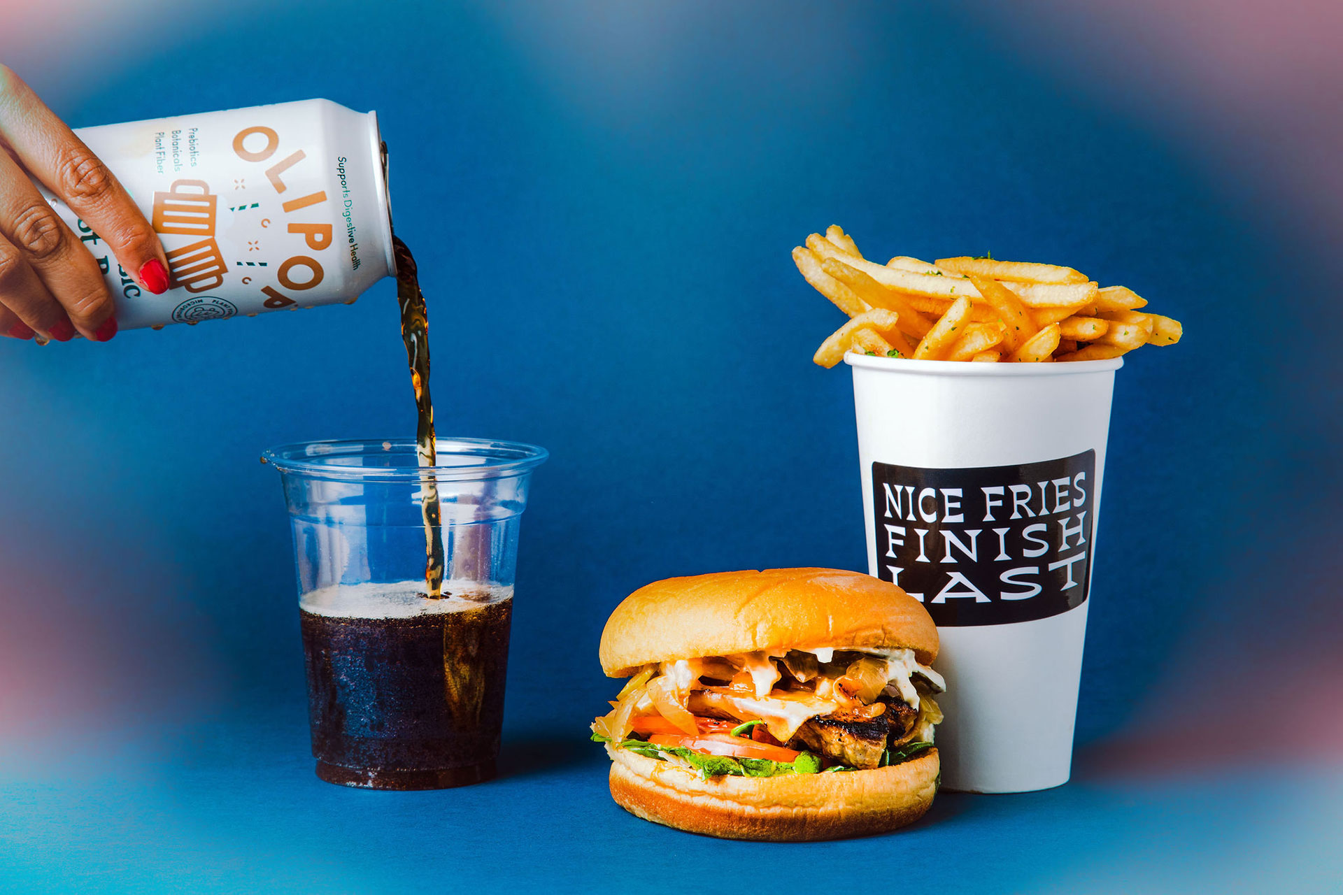 uncool new items coke fries sandwich