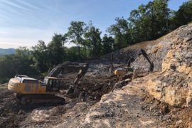 Center Hill Dam Safety Rehabilitation Project – Silver Point, TN