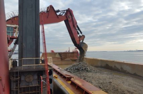 Dredging and Rock Removal, Delaware River Chanel Deepening – Chester, PA