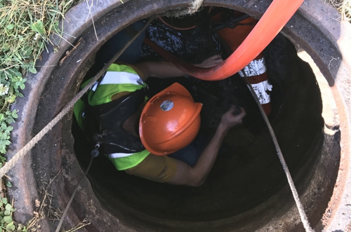 SANITARY SEWER REHABILITATION OAKLAWN IL