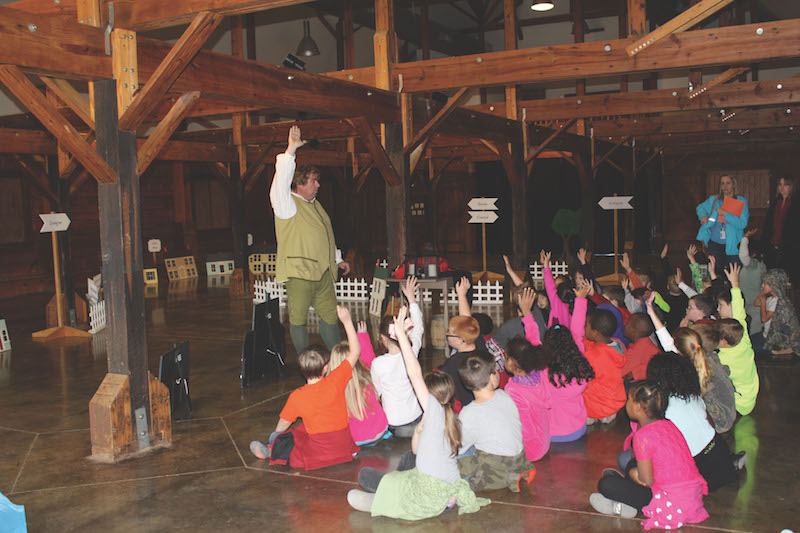Revisit Colonial America through educational programs offered at The American Village
