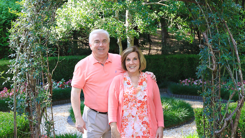 Step into Dennis and Janie Dollar's backyard paradise