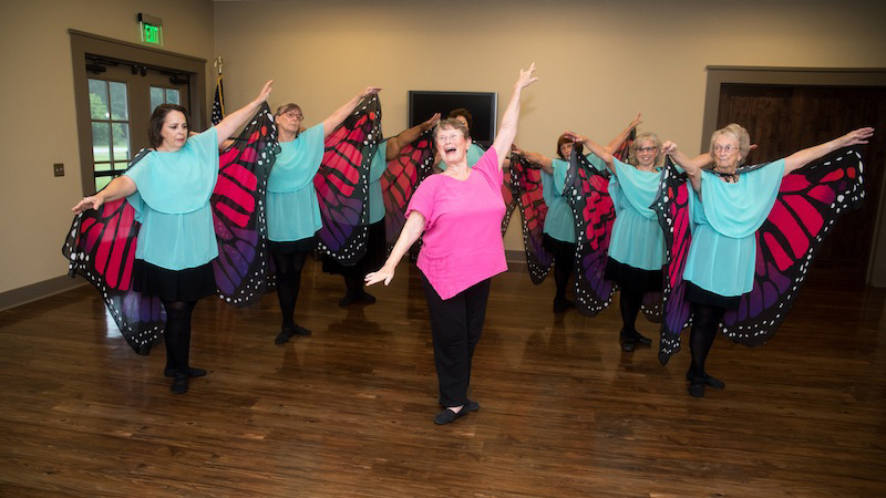Even at 81, Suanne Ferguson's dancing toes can't be stopped