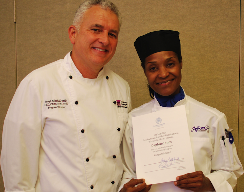 Get to know Jefferson State Culinary student Daphne Jones