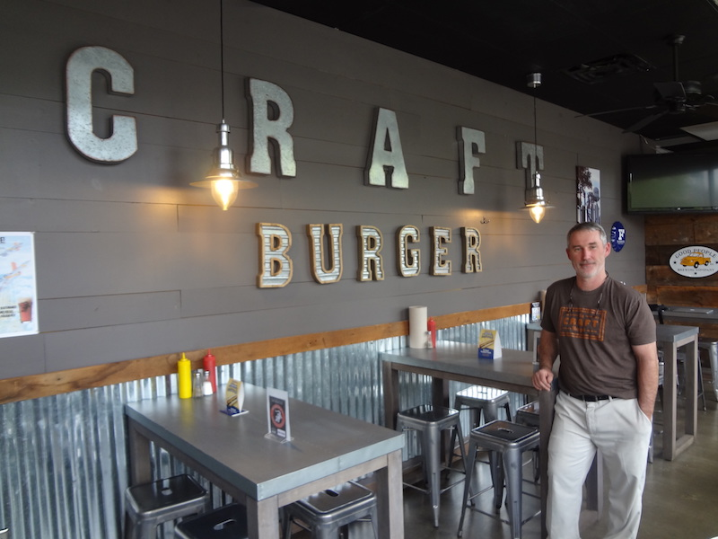 Get to Know: Barry O'Hare, The Craft Burger owner