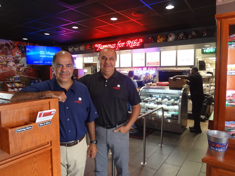 Five Questions For: David and Joe Maluff, Full Moon Bar-B-Que Owners