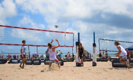 On the Volleyball Court with the La Breche Brothers