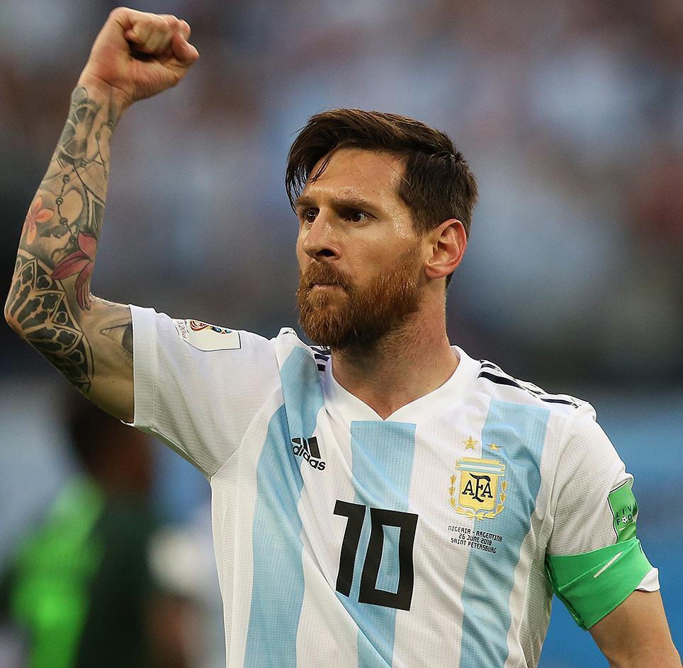 Lio Messi, Selección Argentina,