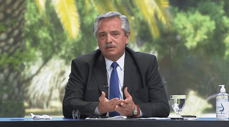 Alberto Fernandez,2021, Pandemia,