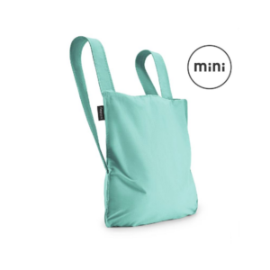 Notabag Mini Reusable Shopping Tote Backpack Mint