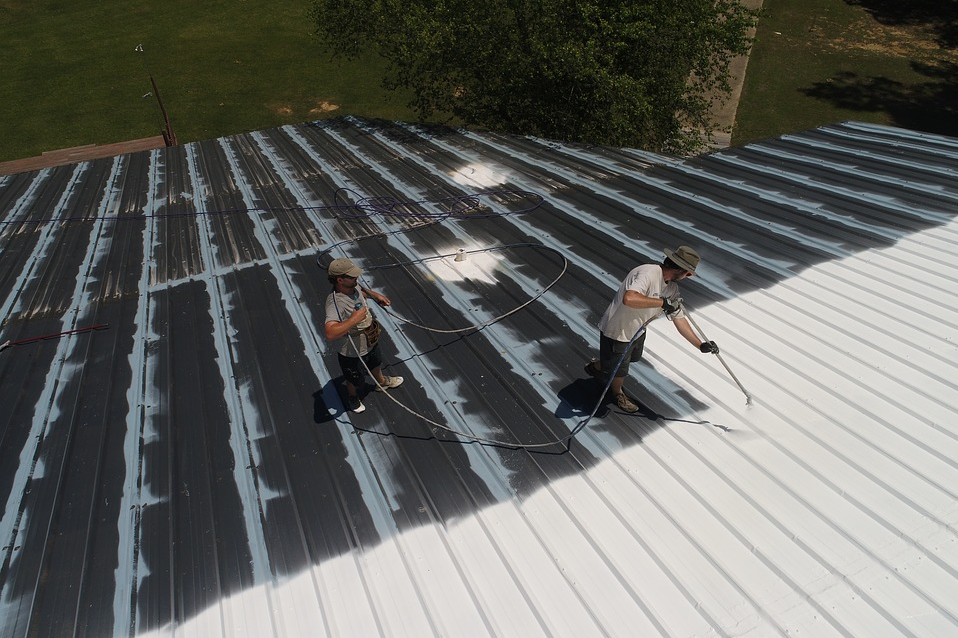 types of roof coating