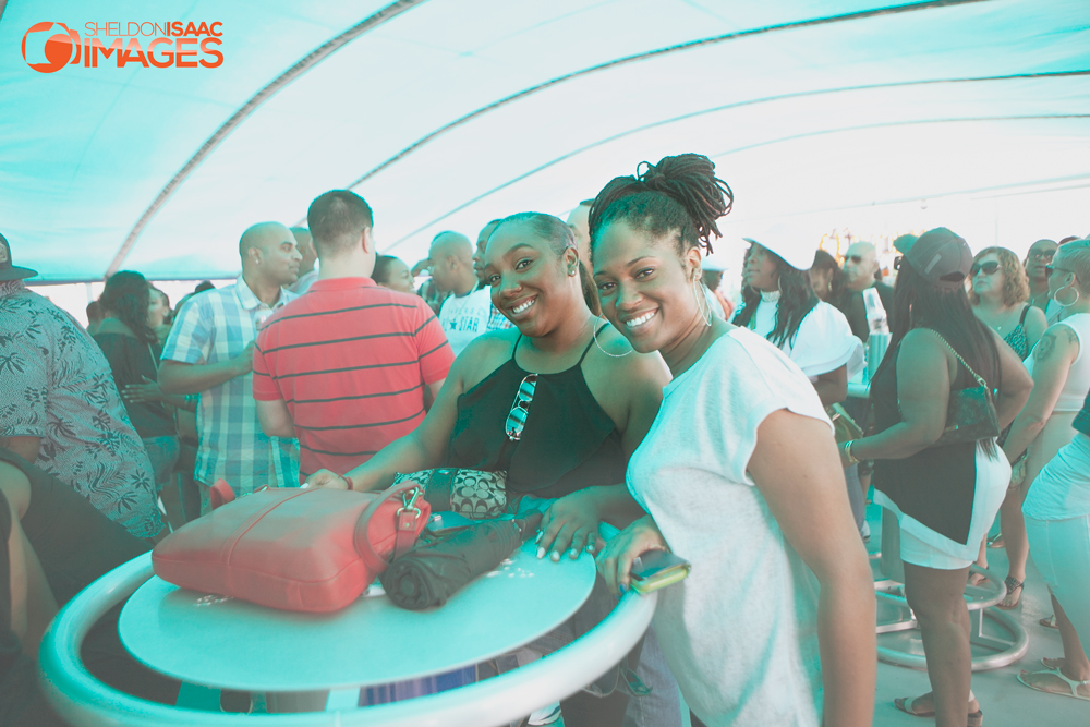 Ladies on the Caribana Boat Cruise