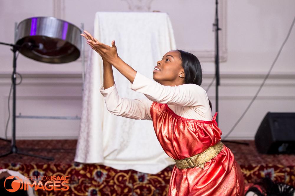 Woman doing a dance