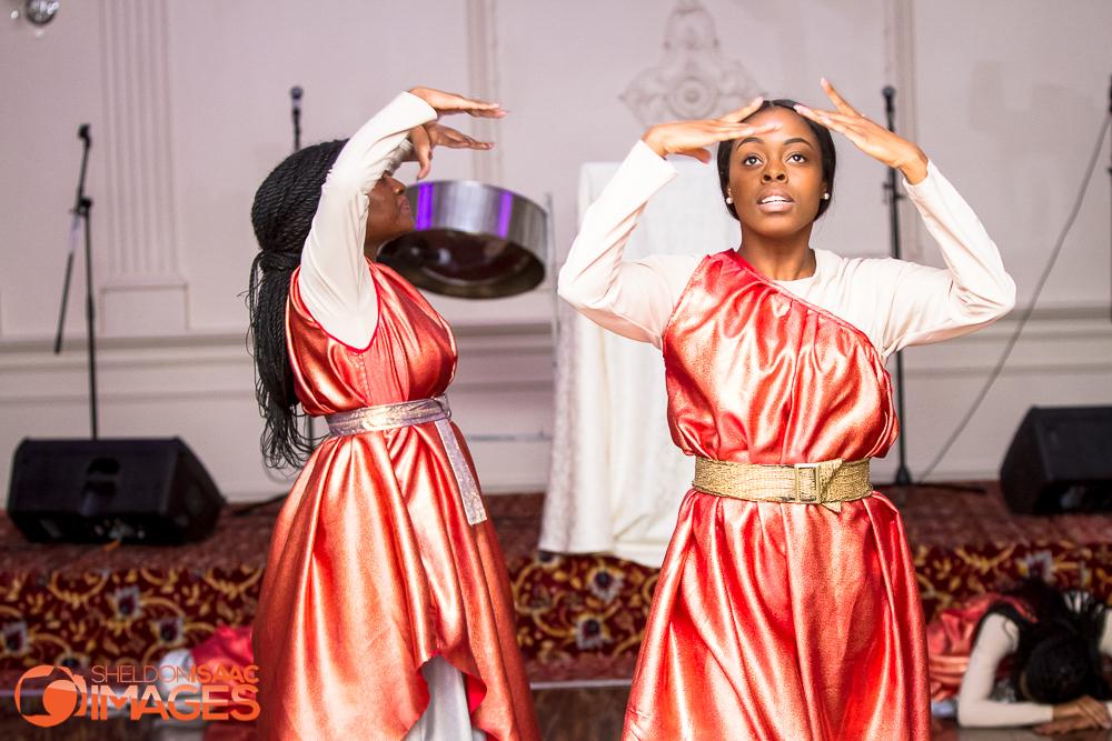 Women dancing at Elite Banquet Hall