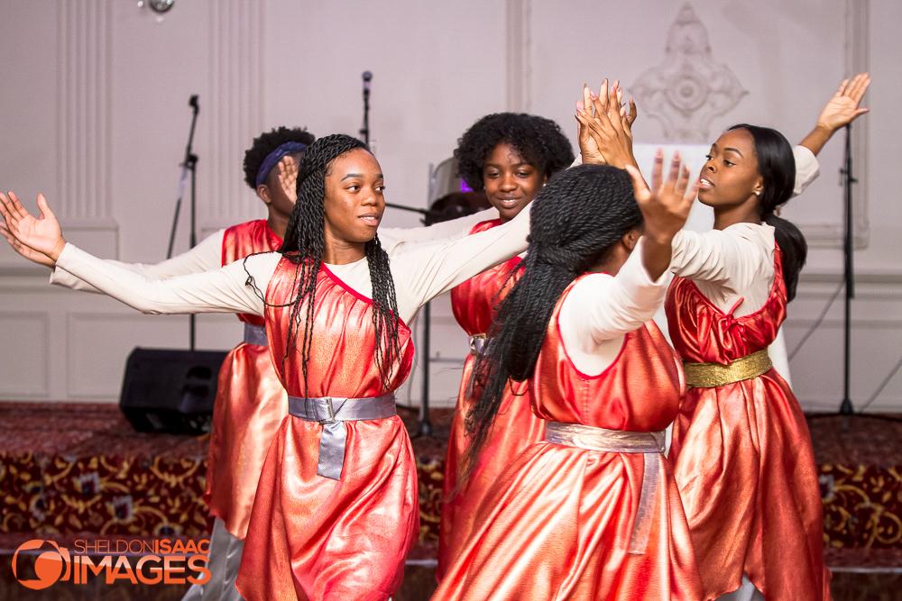 Women Dancing at a Gala