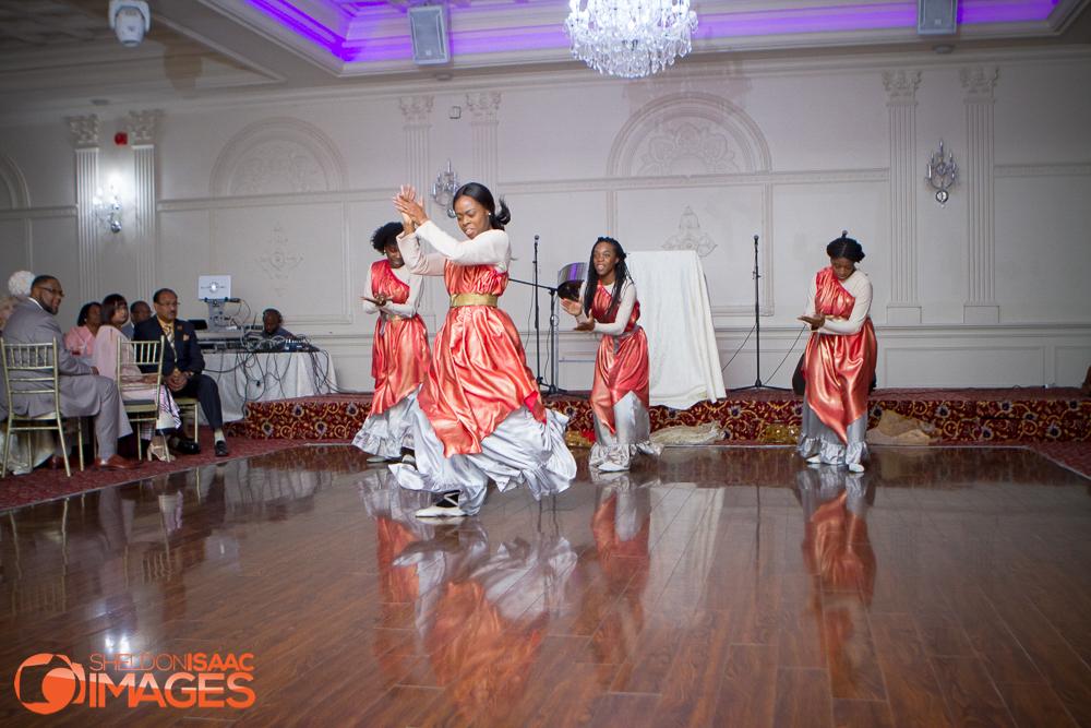 Women dancing at Life Changers Gala