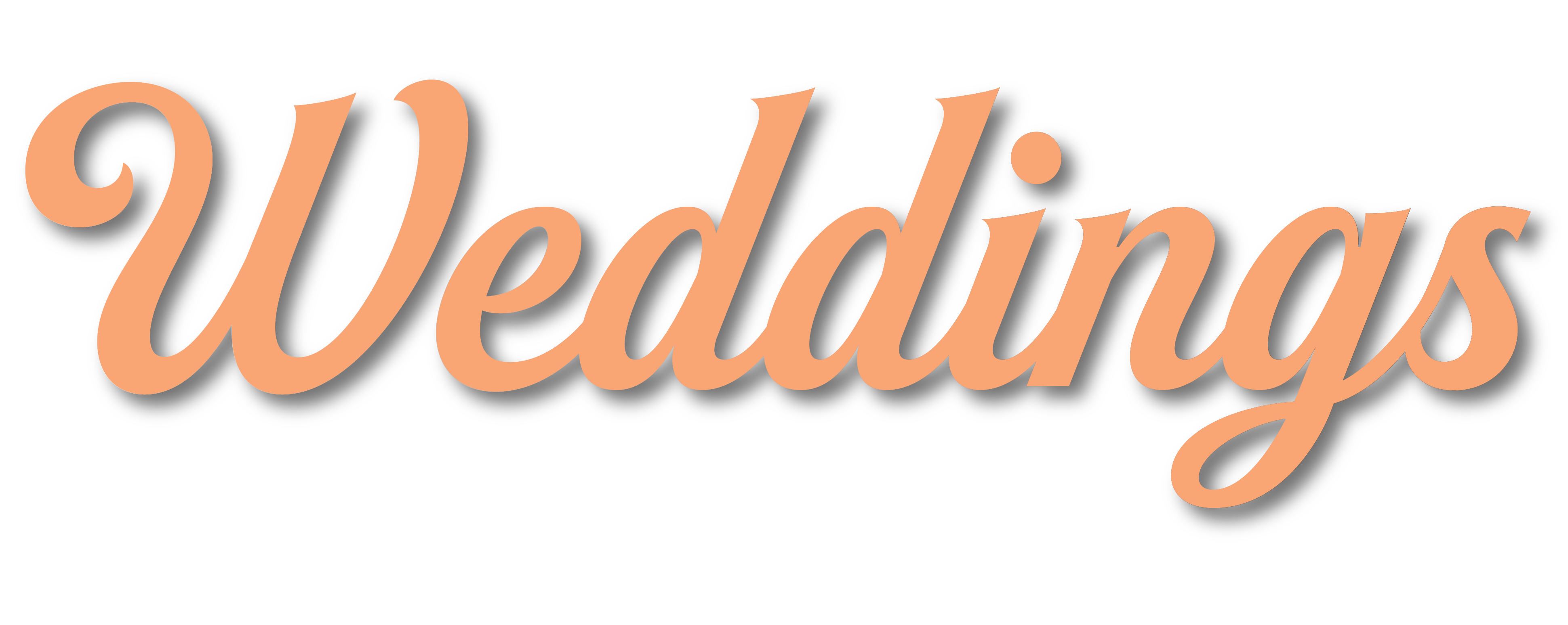 Wedding graphic title