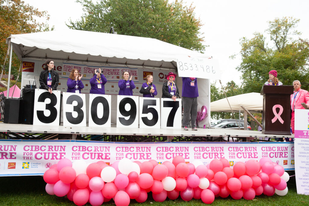 CBIC Run for the Cure stage