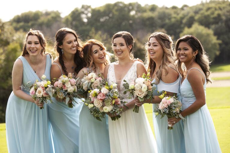 Bridal Party ladies laughing