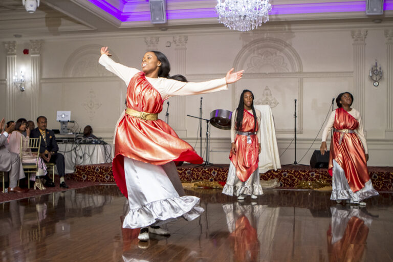 Dancers perform at church gala in Mississauga