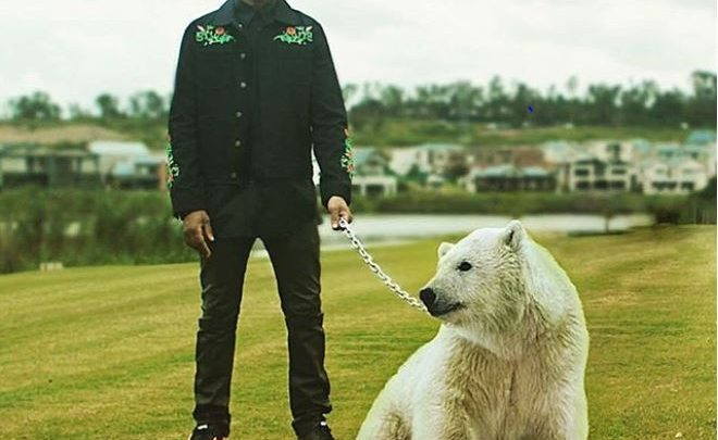 Fans Call Out Riky Rick For Polar Bear Picture
