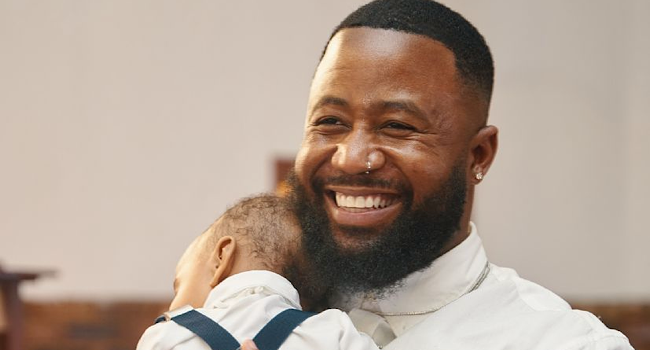 Pic! Cassper Gives Baby Khotso A Haircut And Adds Some Classic Nyovest Flavour To It