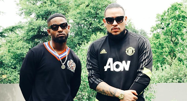 Watch! Heartwarming Video Of A Smiling AKA Playing Soccer With Prince Kaybee