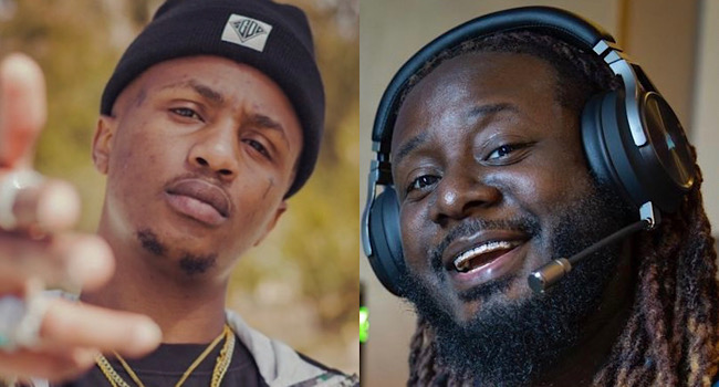 Emtee Stands Up For T-Pain Following Revelation That He Went Into Depression When Usher Told Him He F*cked Up Music