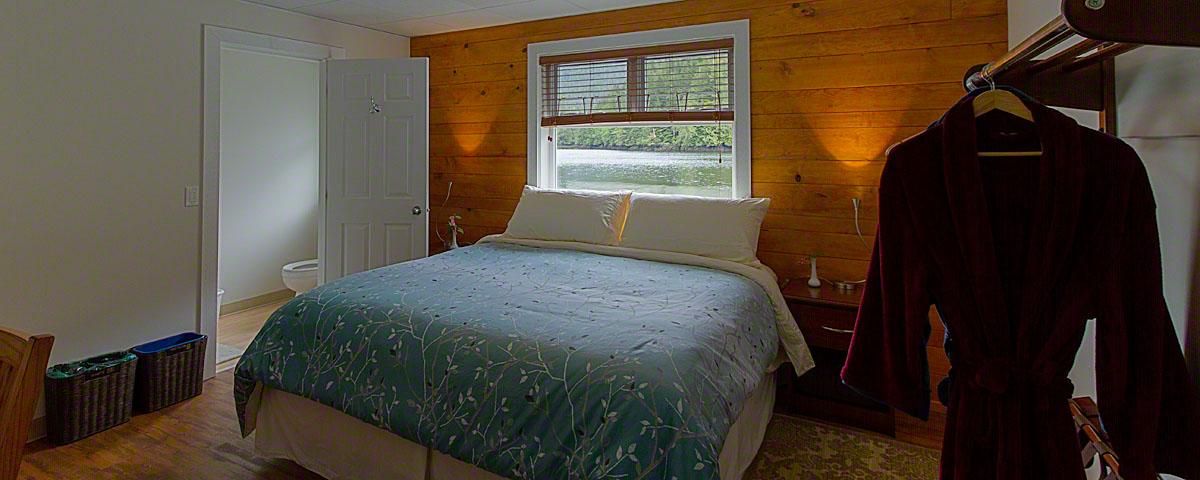 Bedroom at Great Bear Lodge