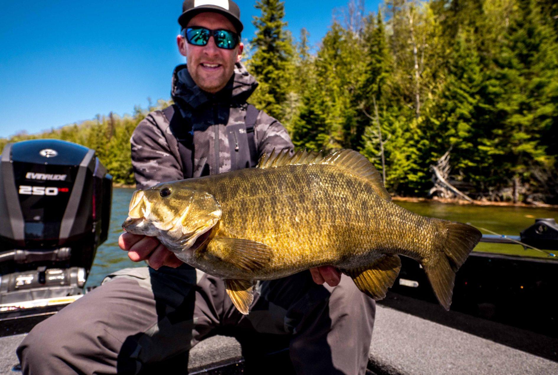 Minnesota bass fishing guide