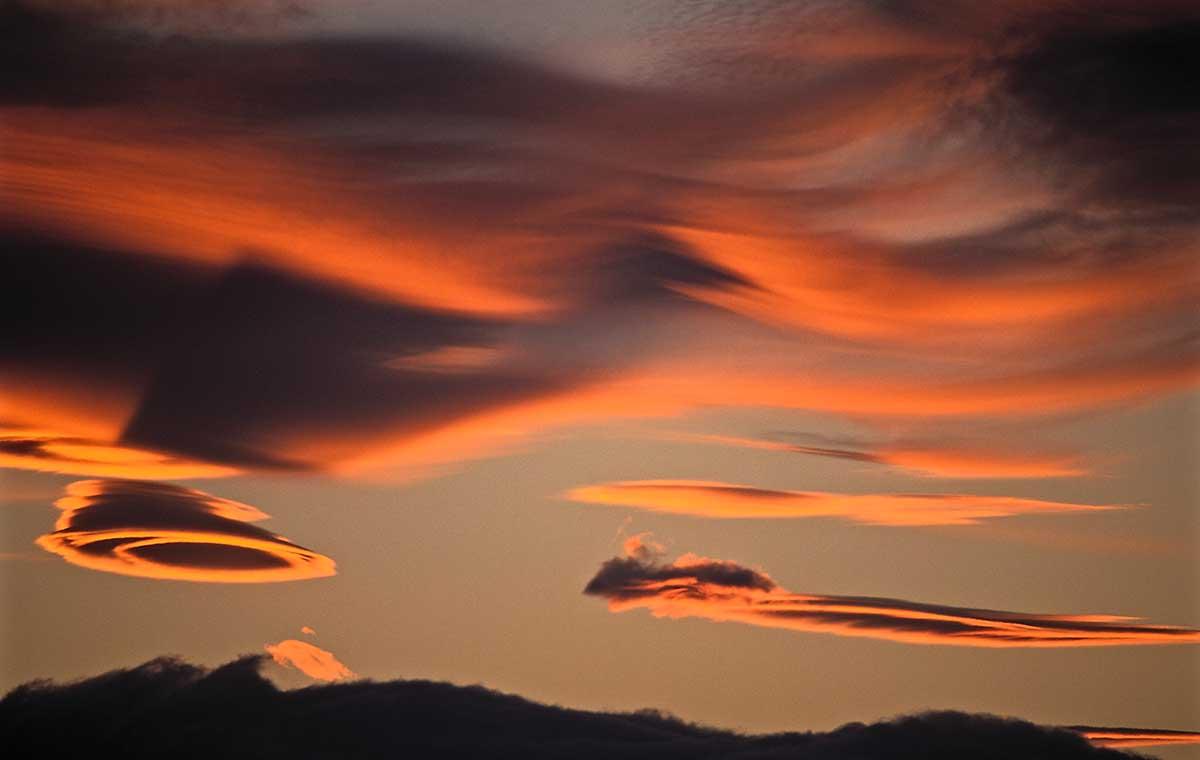 Lenticular Sunset Detail